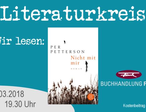 Literaturkreis! Wir lesen: Per Petterson