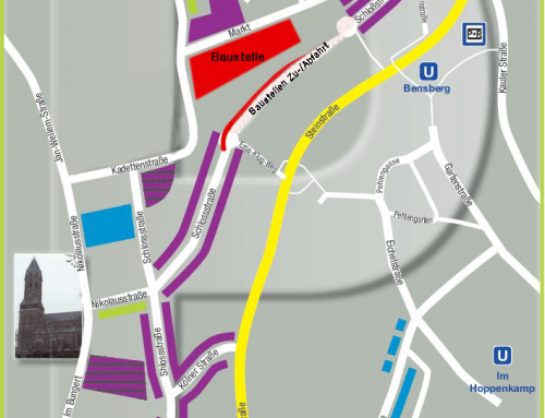 Hello, Bauzaun! Hello, unentdeckte Parkplätze in Bensberg!