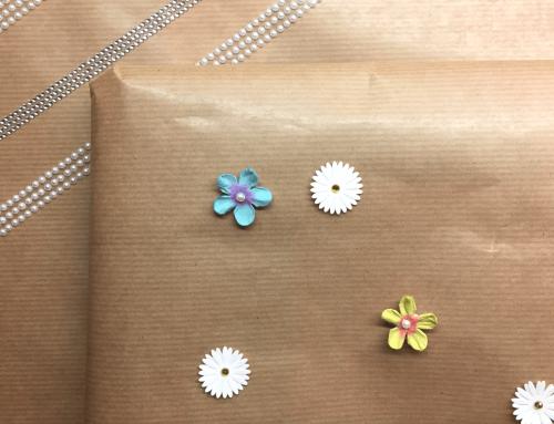 Schönes schön verpacken mit Deko-Klebebändern und Stickern