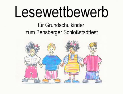 Lesewettbewerb für Grundschulkinder