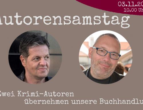 Autorensamstag! Linus Geschke & Christoph Brüggentisch sind funky