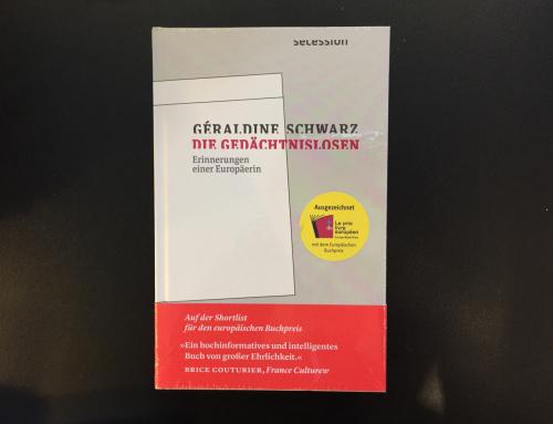 """Europäischer Buchpreis: """"Die Gedächtnislosen"""" von Géraldine Schwarz"""