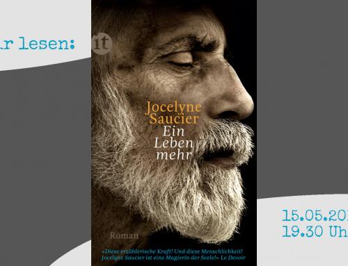 Literaturkreis! Wir lesen: Jocelyne Saucier