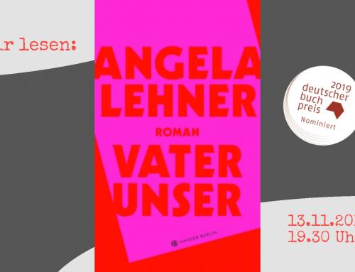 Literaturkreis! Wir lesen: Angela Lehner