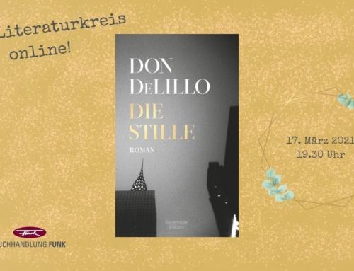 """Wir lesen: """"Die Stille"""" von Don DeLillo"""