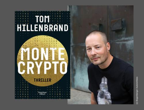 "#litbensberg online! Tom Hillenbrand mit ""Montecrypto"""